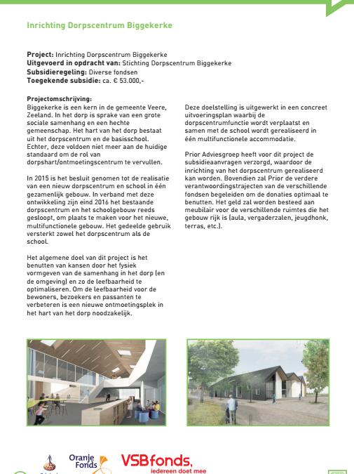 Officiële opening MFA Biggekerke
